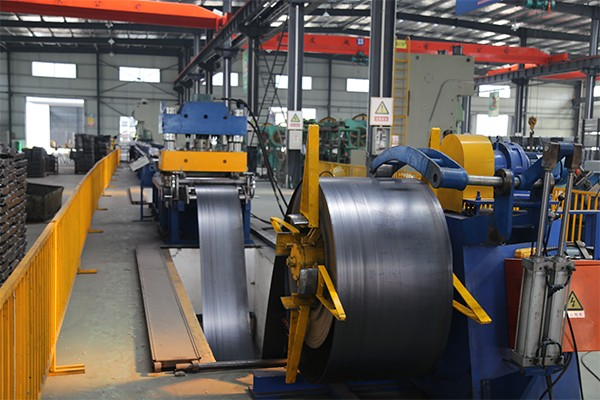 Roll forming production line